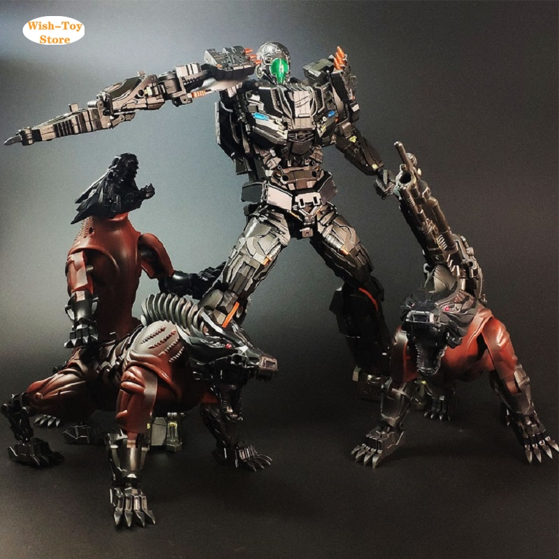 Transformed Visual Toys UT R-01 Peru Kill W//2 Dogs Steel JAW AOE Lockdown Figure