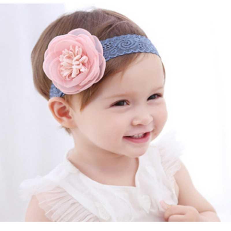 korean baby headband accessory newborn flowers headbands baby girls hair accessories DIY jewelry Children photographed photos