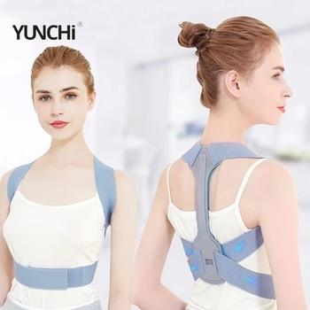 Back Support Posture Corrector Clavicle Spine Shoulder Support Belt Back Pain Relief Posture Correction Student/Adults/Unisex 1