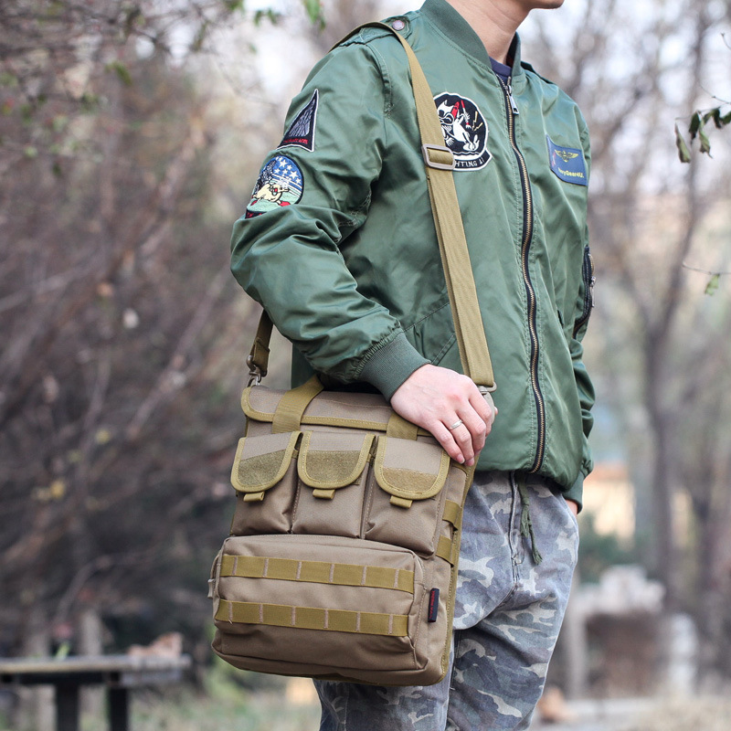 Bone Frog Fashion Single-shoulder Bag Casual Tactical Backpack New Style Hiking Mountaineering Bag