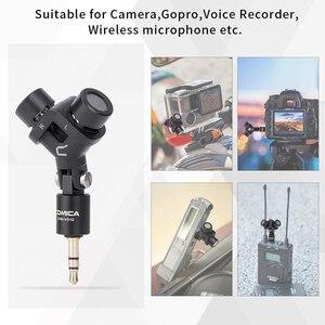 Image 5 - Micro Stereo Comica CVM VS10 Xy Cardioid Mini Mic Dành Cho Máy Ảnh Gopro, điện Thoại Thông Minh Android Video Ghi Âm ((3.5 Mm TRS)
