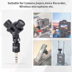 Image 5 - Stereo Microphone COMICA CVM VS10 XY Cardioid Mini Mic for Gopro Camera,Android Smartphone Video Recording((3.5mm TRS)