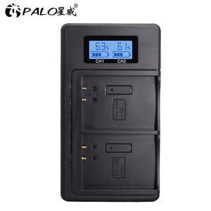 Image 2 - LP E10 LP E10 LPE10 battery charger USB Dual smart fast charger for Canon EOS 1100D 1200D 1300D 2000D Rebel T3 T5 T6 Kiss X50