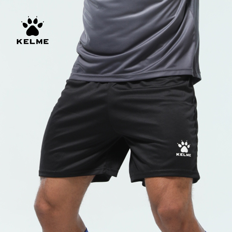 KELME Men's Soccer Shorts Men Summer Elastic  Running Football Quick Dry Breathale Light Sportswear Sports Shorts Male K15Z434-1