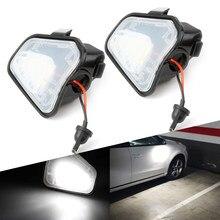 AUXITO-luces LED de espejo lateral para coche, sin Error, 2 uds., para VW CC EOS Passat CC Scirocco Passat 4motion Santana 2011-2019 6000K blanco