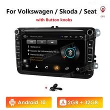 Ossuret 2 din Car Radio Multimedia Player GPS for Volkswagen VW Passat B7 B6 Golf Touran Polo Sedan Tiguan jetta Android 4G WIFI