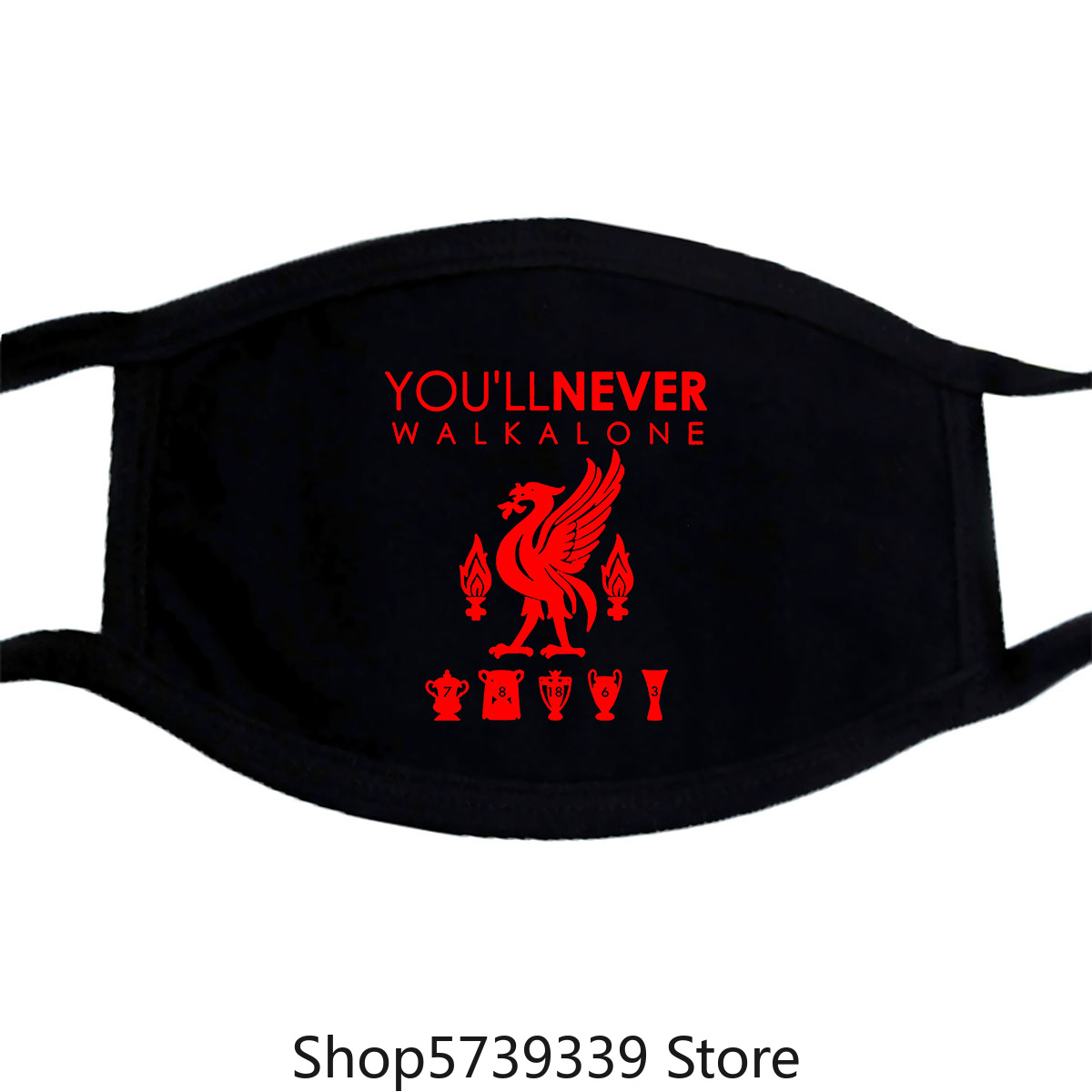 Liverpool Mask-Sport, Football, England, Ship, Gift, Xmas, Him Washable Reusable Mask With