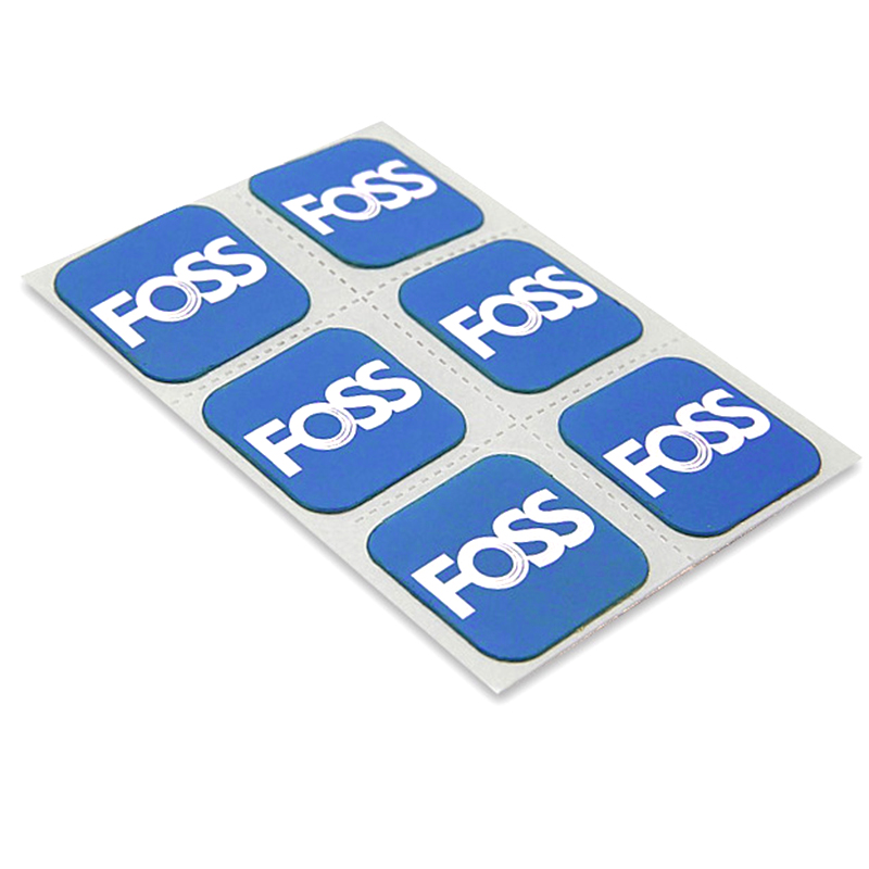 FOSS 6Pcs/Set Bicycle Tire Patch Quick Drying Bike Tube Repair Pad Tool Inner Parches MTB Road Bike Repairing Tool(China)