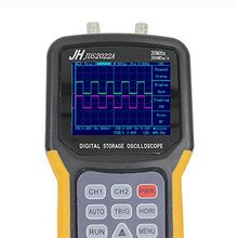 цена на Handheld Digital Storage Oscilloscope JHJDS2022A 25MHz 2 Channels 200MS/s Sample Rate for Engineers Best Choice