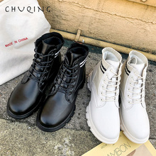 Boots Women Winter Shoes 2019 Autumn and CHUQING Brand New Fashion Trend Comfortable Korean Womens