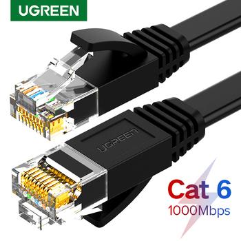 Ugreen kabel Ethernet Cat6 przewód Lan UTP CAT 6 RJ 45 kabel sieciowy 10m 50m 100m Patch Cord do laptopa Router RJ45 kabel sieciowy tanie i dobre opinie NW102 NW115 NW117 Rohs CN (pochodzenie) Ethernet cable Lan cable Cat6 cable Cat 6 cabe RJ45 cable Cable ethernet Cable internet