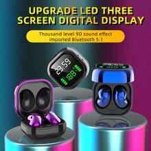 Xvida S6プラスワイヤレスbluetooth 5.0で、耳デジタルディスプレイノイズリダクション防水ステレオイヤホンtwsイヤフォン