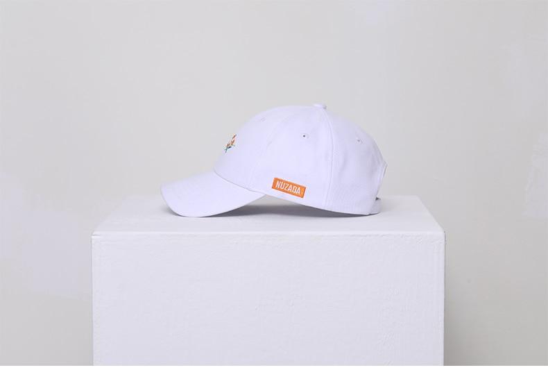 Nuzada boné de beisebol feminino, chapéu snapback