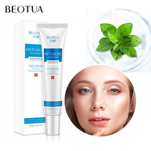 BEOTUA Tea Tree Acne Face Cream Anti Treatment Shrink Pores Collagen Scar Removal Whitening Hyaluronic acid Moisturizing