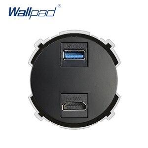 Wallpad HDMI USB 3.0 Wall Sock