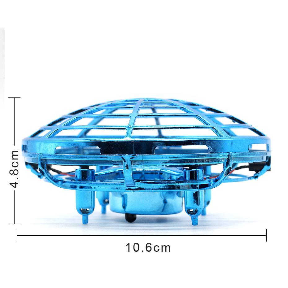 Image 4 - Quadcopter Mini Drone UFO Quadcopter Induction Infrared Light Suspension Flying  Toys Mini RC Drone Children's Gift Figure Toys-in RC Helicopters from Toys & Hobbies