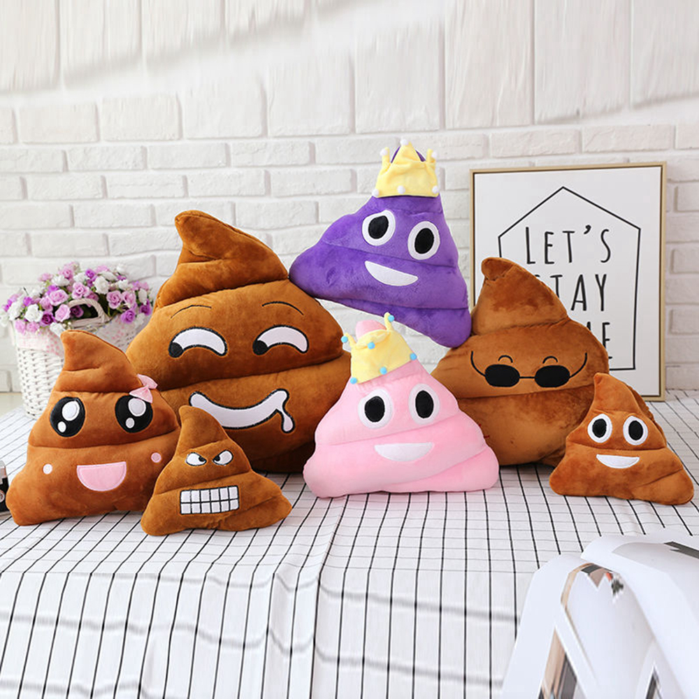 Super poop stuffed toy poop doll birthday, strange and whole person gift