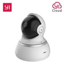 Caméra dôme YI, système de Surveillance de sécurité IP sans fil panoramique/inclinaison/Zoom 1080p HD avec Vision nocturne, suivi de mouvement