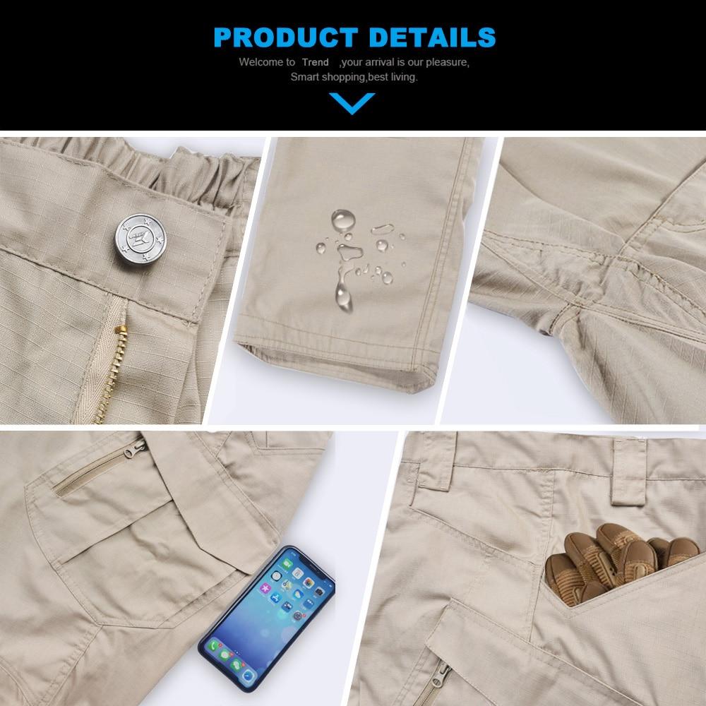 New Mens Tactical Pants Multiple Pocket Elasticity Military Urban Commuter Tacitcal Trousers Men Slim Fat Cargo Pant 5XL 5