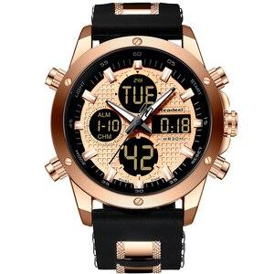 Image 1 - Readeel reloj de pulsera deportivo para hombre, resistente al agua, militar, de cuarzo, masculino, 2019