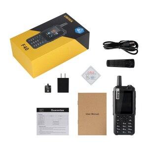 Image 5 - UNIWA F40 Zello Walkie Talkie 4G telefon komórkowy IP65 wodoodporny wytrzymały smartfon MTK6737M czterordzeniowy telefon z funkcją Android