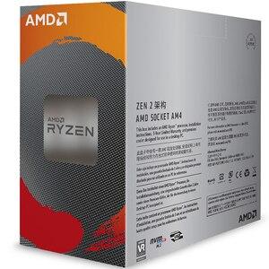 Image 2 - AMD Ryzen 5 3600 R5 3600 3.6 GHz שש ליבות עשר חוט מעבד מעבד 7NM 65W L3 = 32M 100 000000031 שקע AM4 חדש עם מאוורר