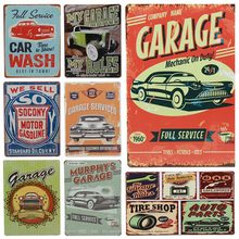Get more info on the 30X20cm Auto Parts Classic Garage Vintage Metal Signs Wall Art Decoration Bar Pub House Cafe Tin Sign Painting Retro Plaque H23