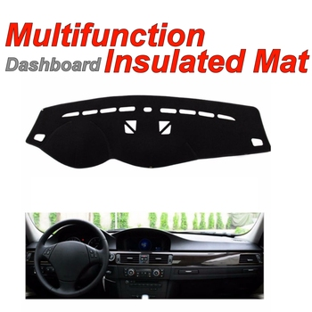 Dashboard Mat Insulated Original Factory Shape pad Protection Cover Carpet Dashmat For BMW 3 M3 E90 E91 E92 E93 with Monitor image
