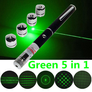 Image 2 - Wireless Remote Green 5 In 1 Presenter Powerpoint Laser Pointer Presentation Remote Pen W/Applications Pointer Laser Flashlight