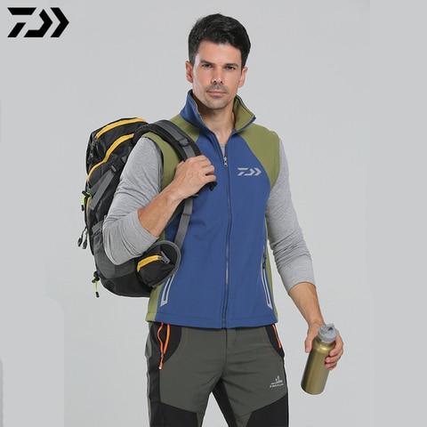 daiwa 2020 roupas jaqueta de pesca removivel