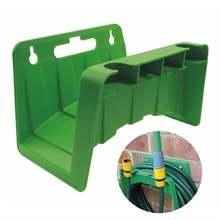 Настенный держатель для садового шланга и трубы кронштейн хранения