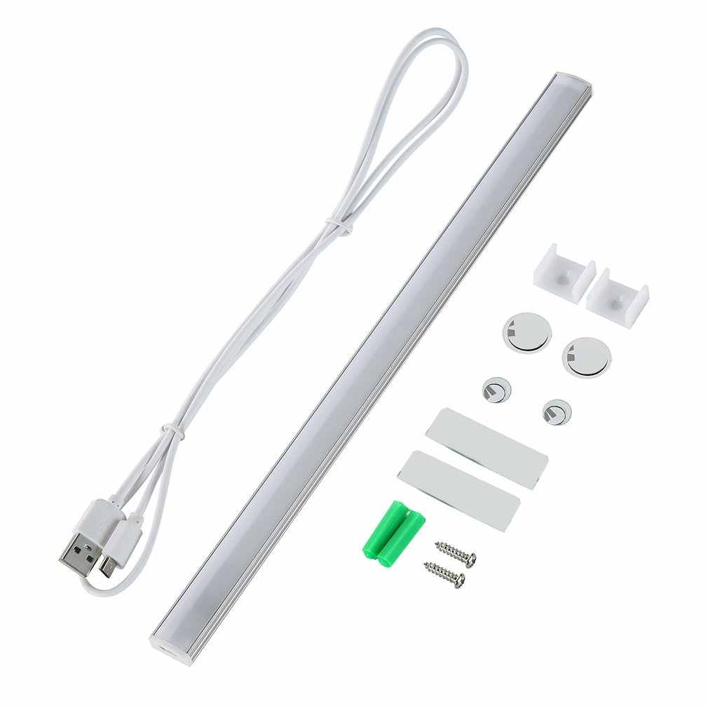 Under Cabinet LED Light Bar Ultra Slim Dimmable Cool-Touch Design USB Charging Interface Great for Kitchen Counter Lighting