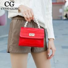 Cvvo  Glmc  Pearl Tote Capacity Handbags Women Shoulder Messenger Bag Female 2021 Fashion Daily Totes Lady Elegant Handbag