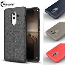 Original Silicone Phone Case For Huawei P10 P9 Plus Mate 10 9 P8 Lite