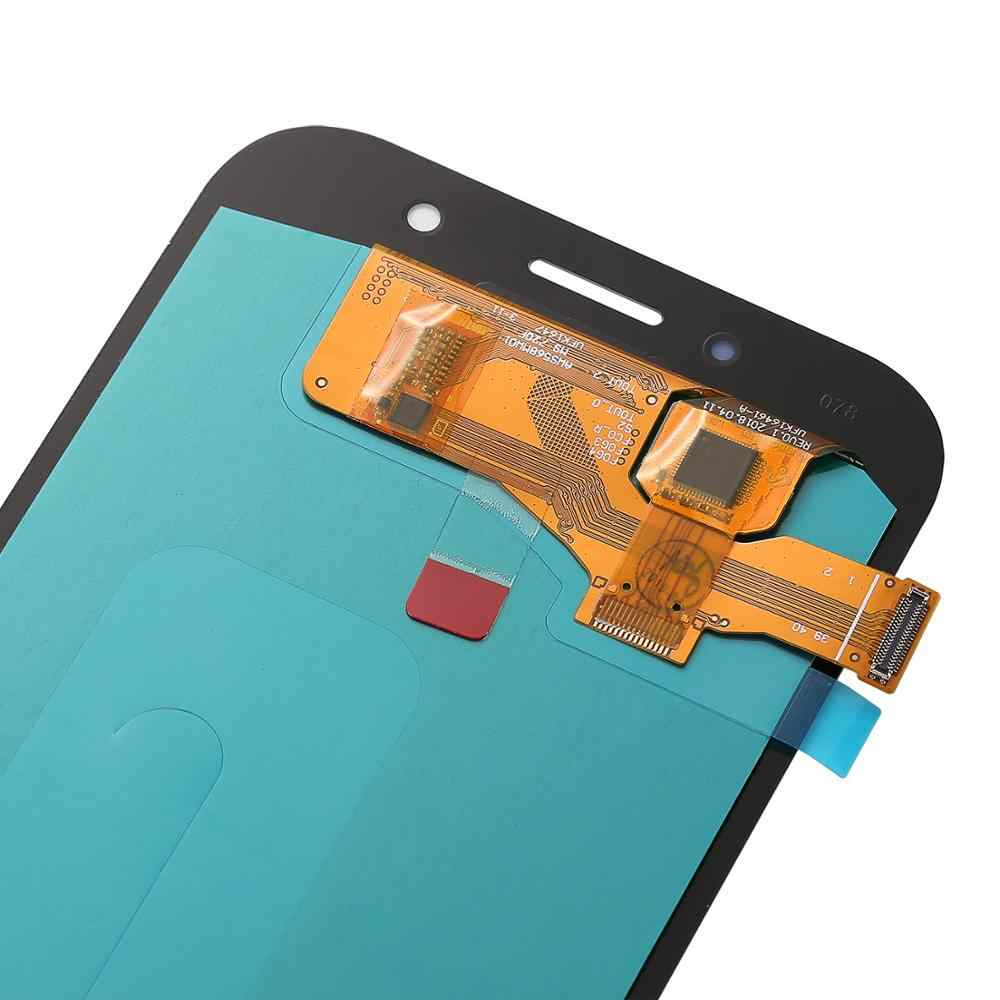 5 piezas de los LCD para Samsung Galaxy A7 2017 a720 SM-A720F pantalla LCD A720M con montaje de digitalizador con pantalla táctil