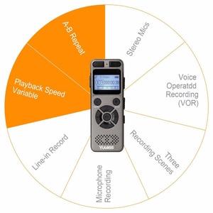 Image 5 - Yulass 8GBเครื่องบันทึกเสียงระดับมืออาชีพแบบพกพาเครื่องบันทึกเสียงดิจิตอลUSBสนับสนุนหลายภาษา,tf Card 64GB