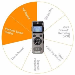 Image 5 - Yulass 8Gb Professionele Audio Recorder Business Draagbare Digitale Voice Recorder Usb Ondersteuning Multi Taal, tf Kaart Naar 64Gb