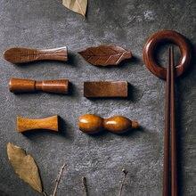 Подставка для китайских палочек деревянные палочки еды домашняя