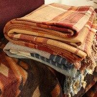 Luxury Brand Designer Blanket Classic Plaid Throw Blankets for Sofa Bohemian Red Yellow Blue Art Wall Tapestry Big Carpet Decora