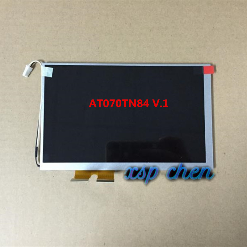 Free shipping Applicable to Innolux <font><b>AT070TN84</b></font> V.1 <font><b>AT070TN84</b></font> V1 Car DVD Navigation GPS LED LCD Display Panel Module Display image