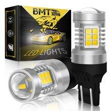 BMTxms 2x LED Canbus Licht Für Lada Kalina Granta Vesta T20 W21/5W 7443 7440 DRL Tagfahrlicht lichter Fehler Frei Auto Lampe