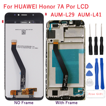 1440x720 IPS for Huawei Honor 7A pro LCD Display+Touch Screen Digitizer AUM-L29 Aum-L41 components with frame display repair kit 5 7 new lcd display for huawei honor 7a pro aum l29 aum l21 aum l41 touch screen digitizer replacement repair kit free tool