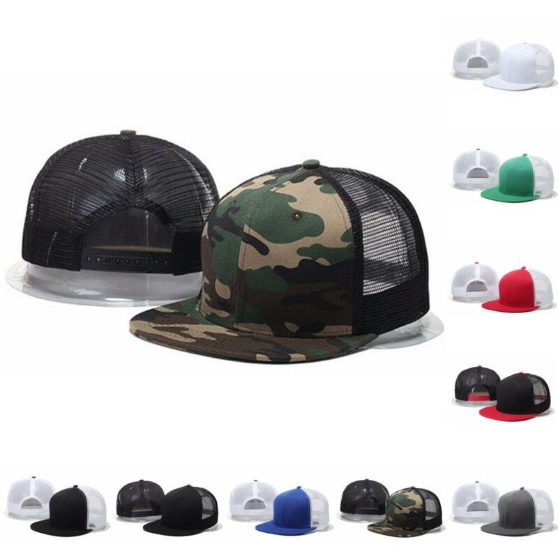 Womens Men Snapback Caps Summer Adjustable Baseball Caps Casual Sports Hats Women Fashion Flat Brim Hats Visor Caps