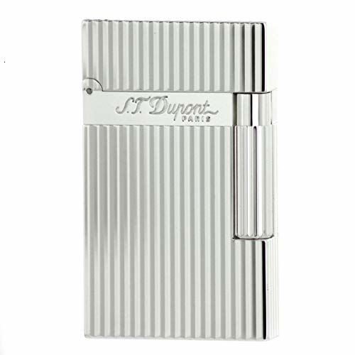 S.T. Dupont d 016817 Ligne 2 Lighter – Vertical Lines Argento|Highlighters| |  - title=