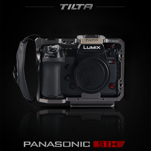 Image 3 - Tilta TA T38 A G DSLR rig Camera CAGE FOR PANASONIC S1H S1 S1R camera full cage S1H rig top handle side focus handle