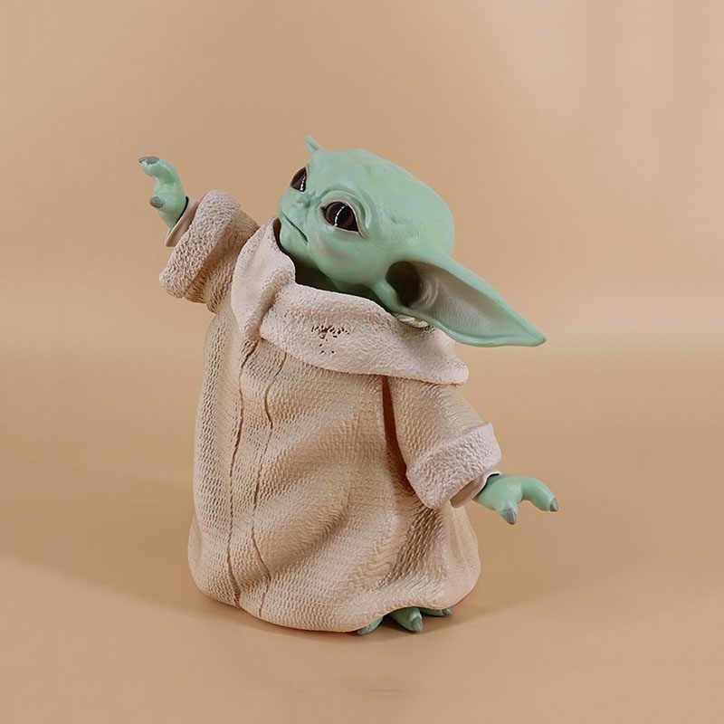 Star wars yoda figura de ação do bebê, brinquedos anime, quente, bebê, yoda, figura de ação, brinquedos yoda, mestre, estatuetas, brinquedos, presentes para crianças