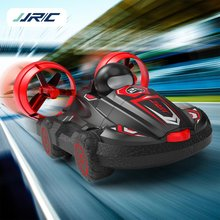JJR/C Q86 2.4G 2-in-1 Amphibious Drift Car RC Hovercraft Speed Boat RC Stunt Car Toys Gift For Kid Outdoor Models Car