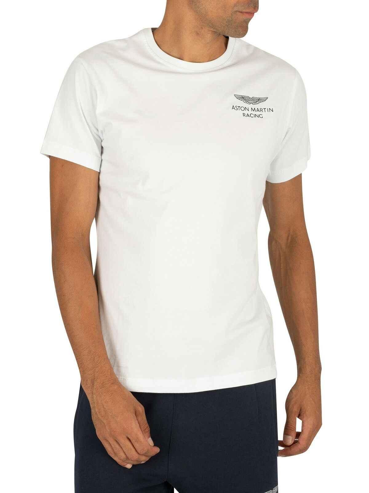Футболка Hackett Men'S London Amr, белая футболка унисекс для гонок, размер S-3Xl