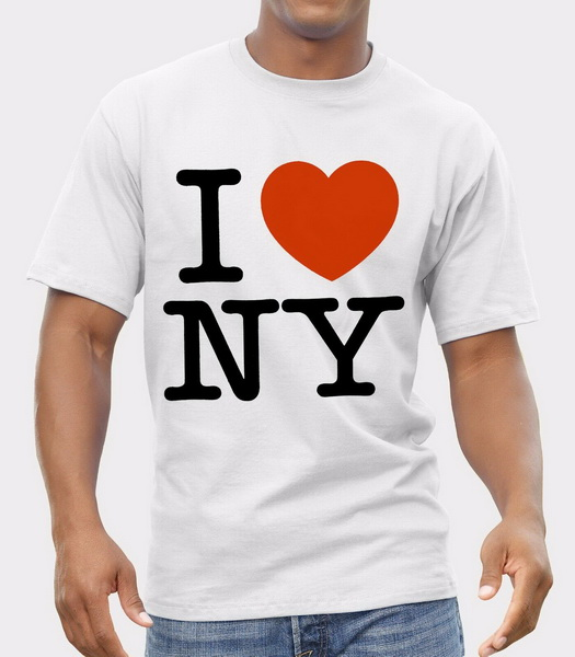<font><b>I</b></font> <font><b>Love</b></font> <font><b>Ny</b></font> Logo T-<font><b>Shirt</b></font> Men <font><b>Shirt</b></font> Print By Epson Retro O Neck Tee <font><b>Shirt</b></font> image