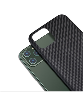 Image 2 - Kevlar real pure carbon fiber fashion phone case for iphone 11 pro max Ultra thin Anti fall hard business cover case 11 X shell